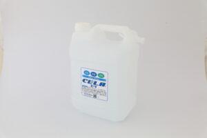 弱酸性次亜塩素酸水CELA 4ℓタンク